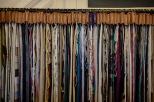 soft furnishing fabric from Fryetts