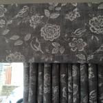 Soft pelmet and Curtains