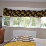 Bedspread and Roman Blind