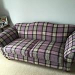 Beautiful wool sofa cover
